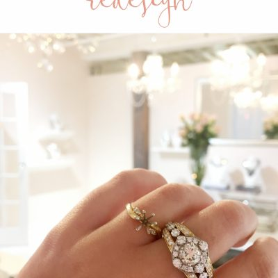 Remake | Redesign: Engagement Ring Upgrade