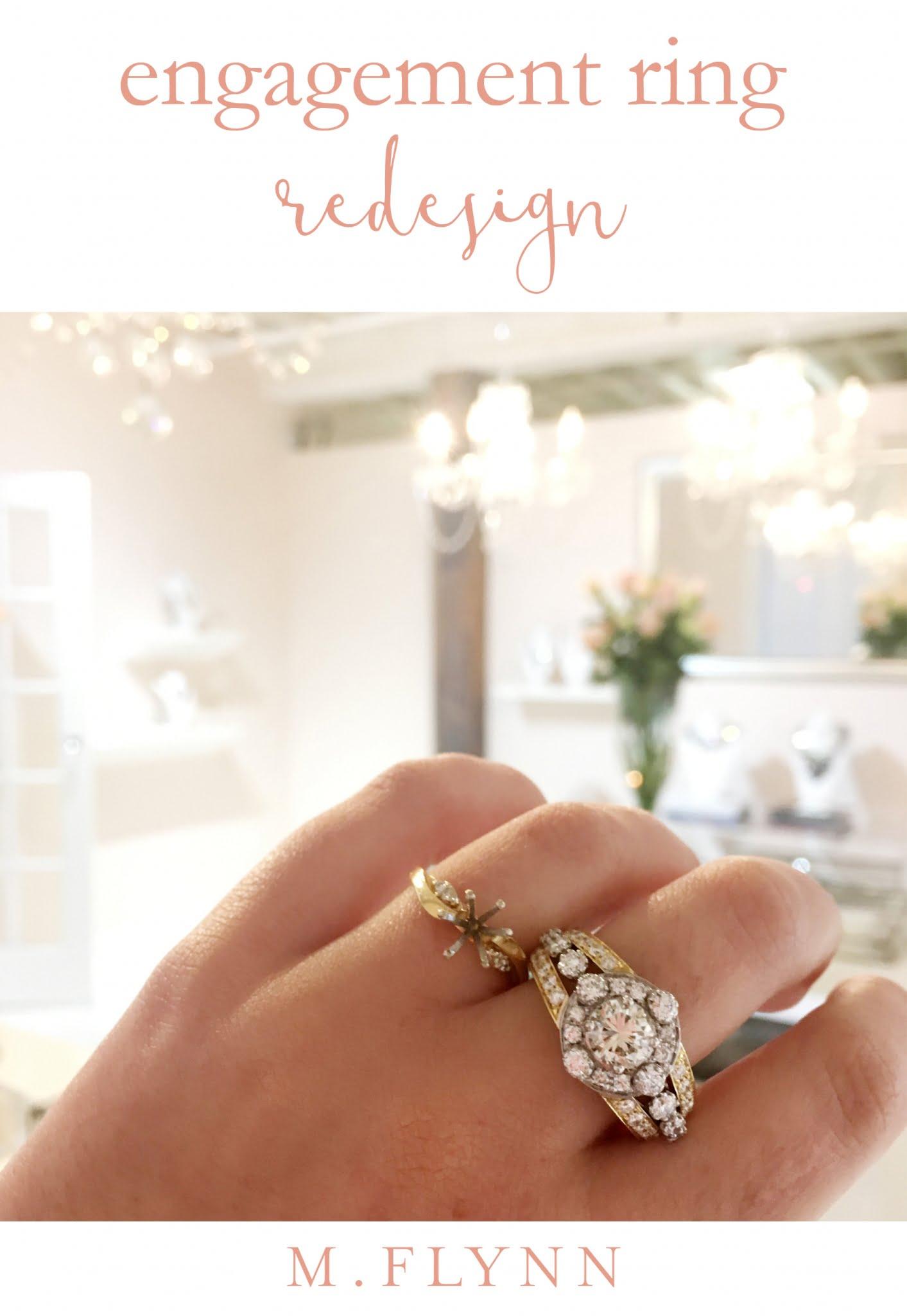 Remake | Redesign: Engagement Ring Upgrade