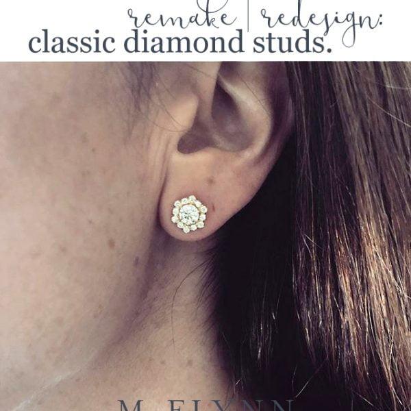 Remake | Redesign : Classic Diamond Studs
