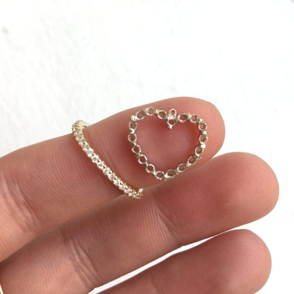 Remake|Redesign: Heart Pendant to Simple Stacker