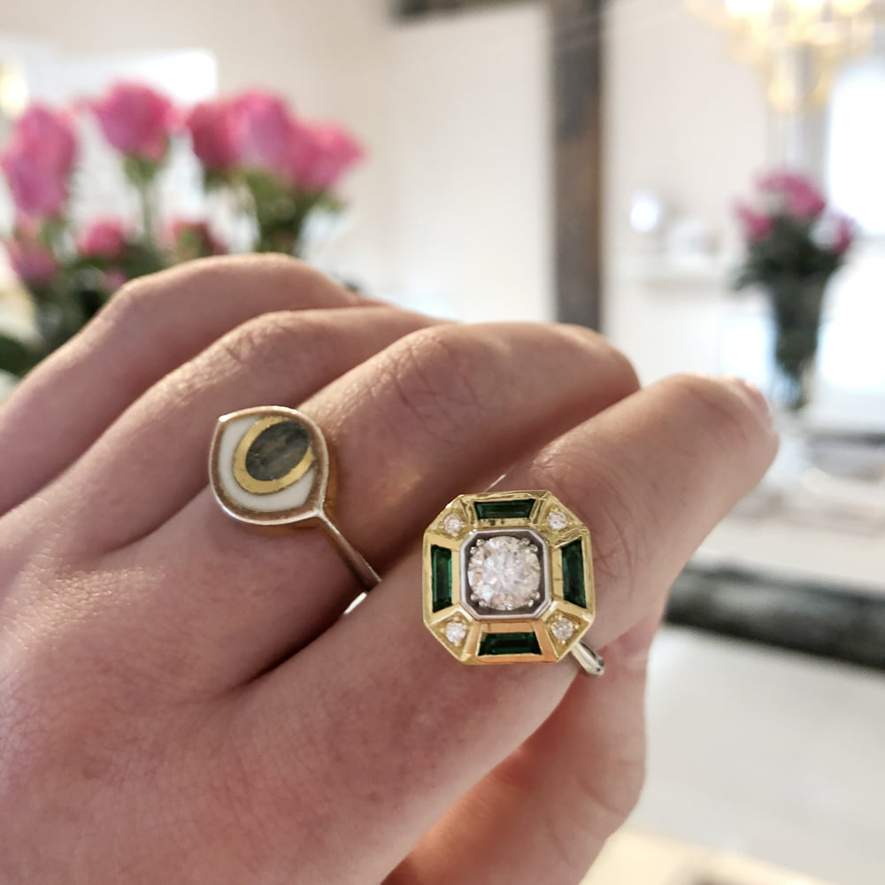 Remake | Redesign: Emerald Deco Ring